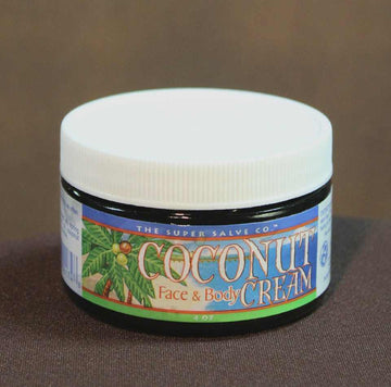 Coconut Cream 4 oz. - The Super Salve Co.