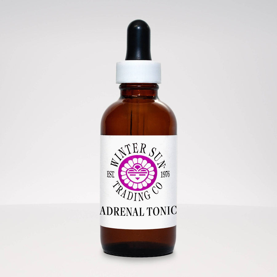 Adrenal Tonic herbal tincture 2 oz. - Winter Sun