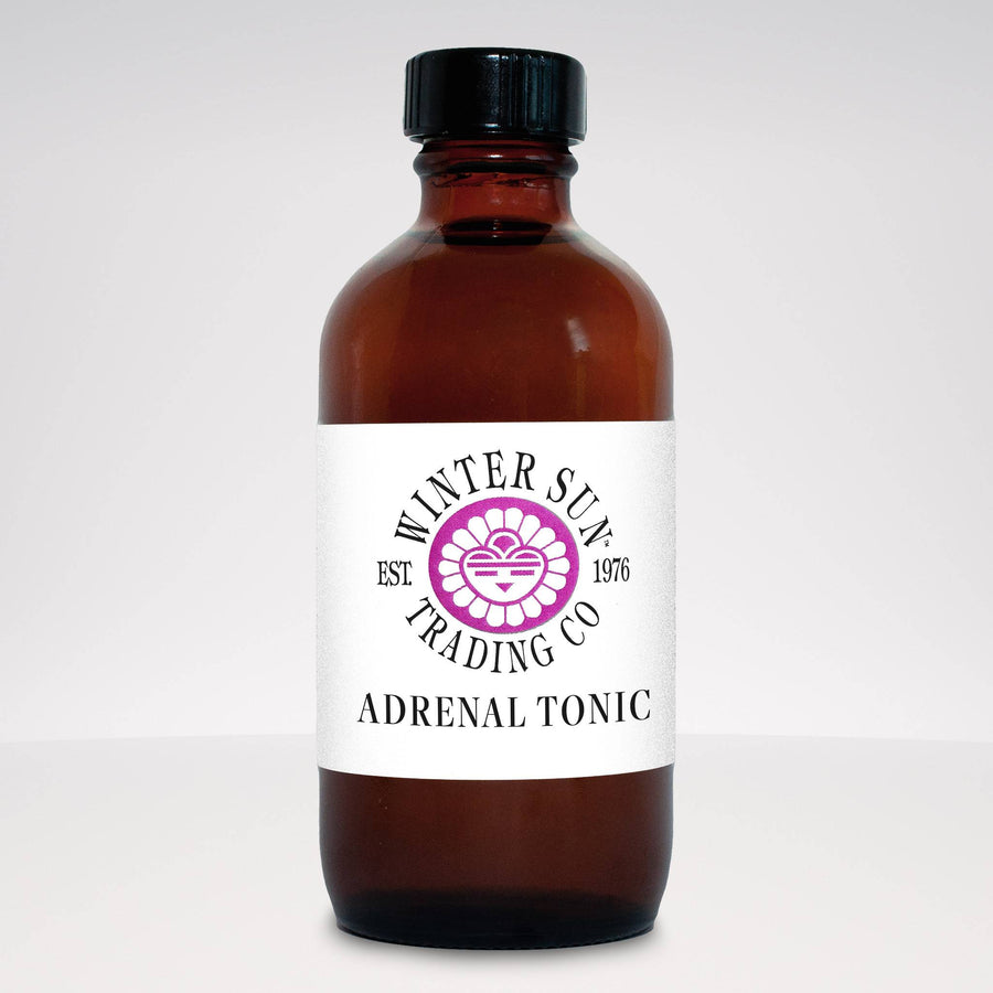 Adrenal Tonic herbal tincture 4 oz. - Winter Sun