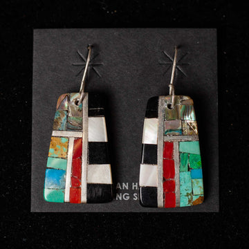 Handcrafted Mosaic Earrings 3  - Mary Lovato