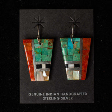 Handcrafted Mosaic Earrings 5  - Mary Lovato