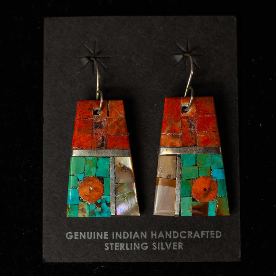 Handcrafted Mosaic Earrings 8  - Mary Lovato
