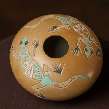 Small Handcrafted Clay Pottery by Wallace Youvella