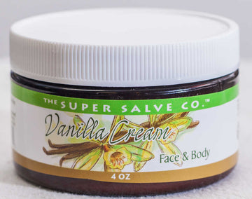 Vanilla Cream for Face and Body 4 oz. - The Super Salve Co.