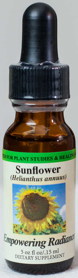Sunflower (Empowering Radiance) Flower Essence  - Center for Plant Studies & Healing Arts.