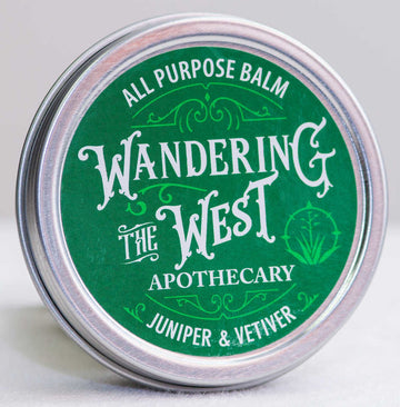Juniper & Vetiver All Purpose Balm 2oz  - Wandering The West
