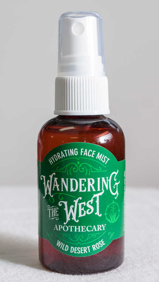 Wild Desert Rose Hydrating Face Mist 2 oz. - Wandering The West