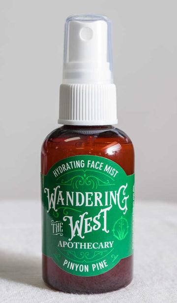 Pinyon Pine Hydrating Face Mist 2 oz. - Wandering The West