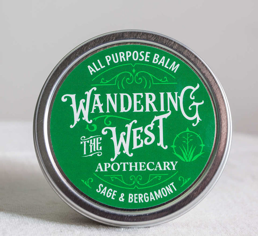 Sage & Bergamot All Purpose Balm - 2 oz  - Wandering The West