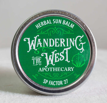 Wandering the West Herbal Sun Balm SPF 27- 2 oz  - Wandering The West