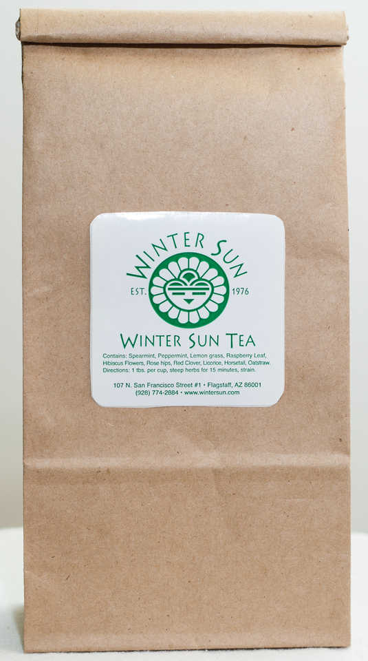 Winter Sun Tea 8 oz. - Winter Sun