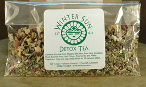 Detox Tea 1 oz. - Winter Sun Trading Co.