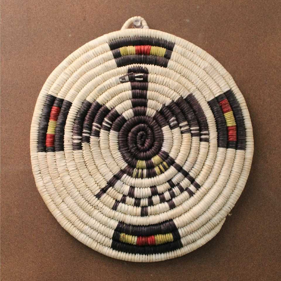 Eagle Poota Coiled Plaque  - Tinessia Poleahla