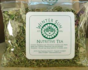 Nutritive Tea 1 oz. - Winter Sun Trading Co.
