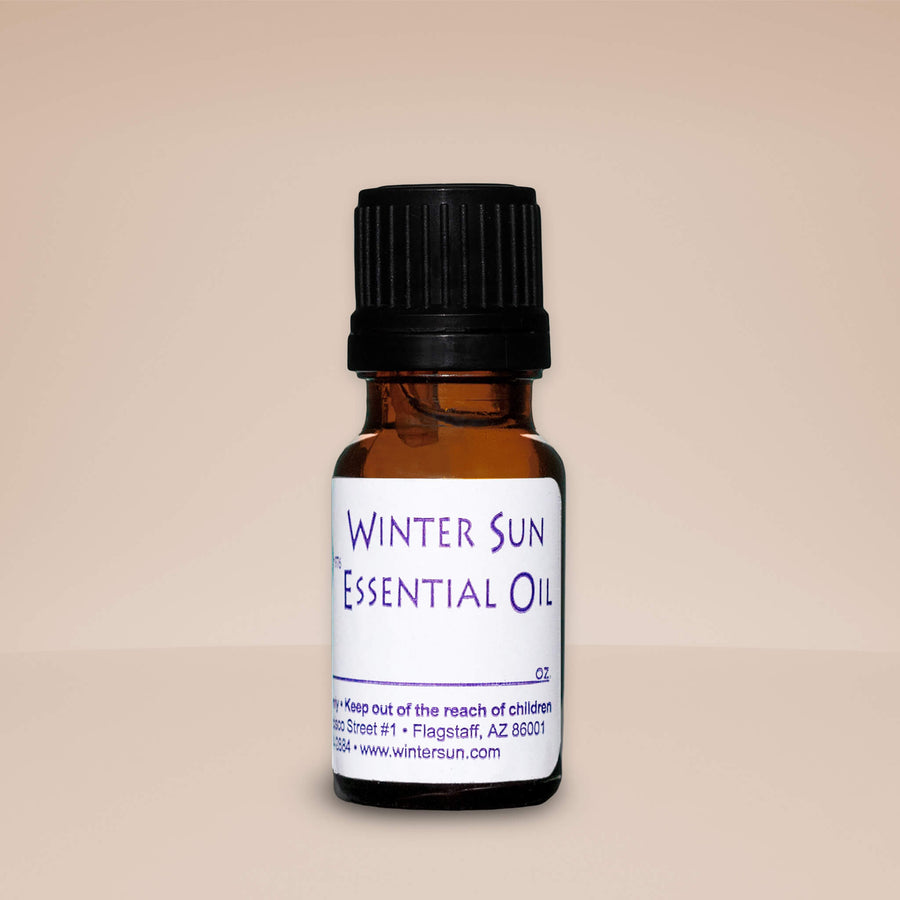 Basil Essential Oil from Winter Sun