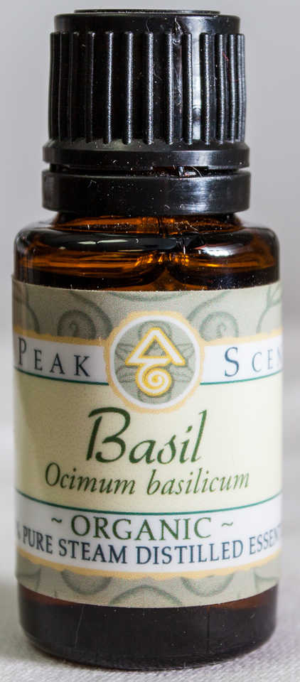 Organic Basil Essential Oil - 15mL  - Peak Scents