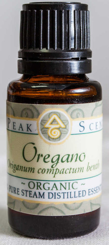 Organic Oregano Essential Oil - 15 mL  - Peak Scents