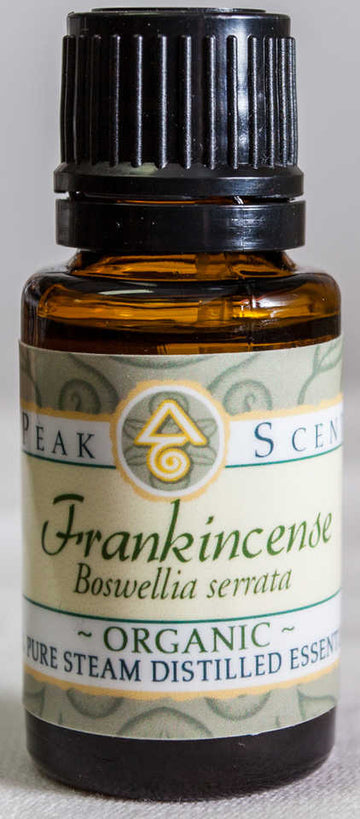 Organic Frankincense Essential Oil- 15 mL  - Peak Scents