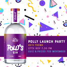 The Gin Birds host 80's themed Gin Party for Movember