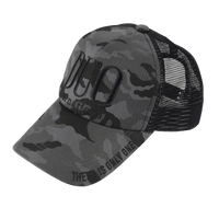 DUO Black Camo Cap