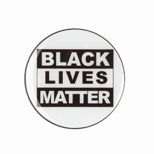 BLACK LIVES MATTER - texte-AESTHET design
