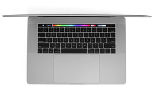 MacBook Pro 15-inch  A1990 Touch Bar Keyboard Silver