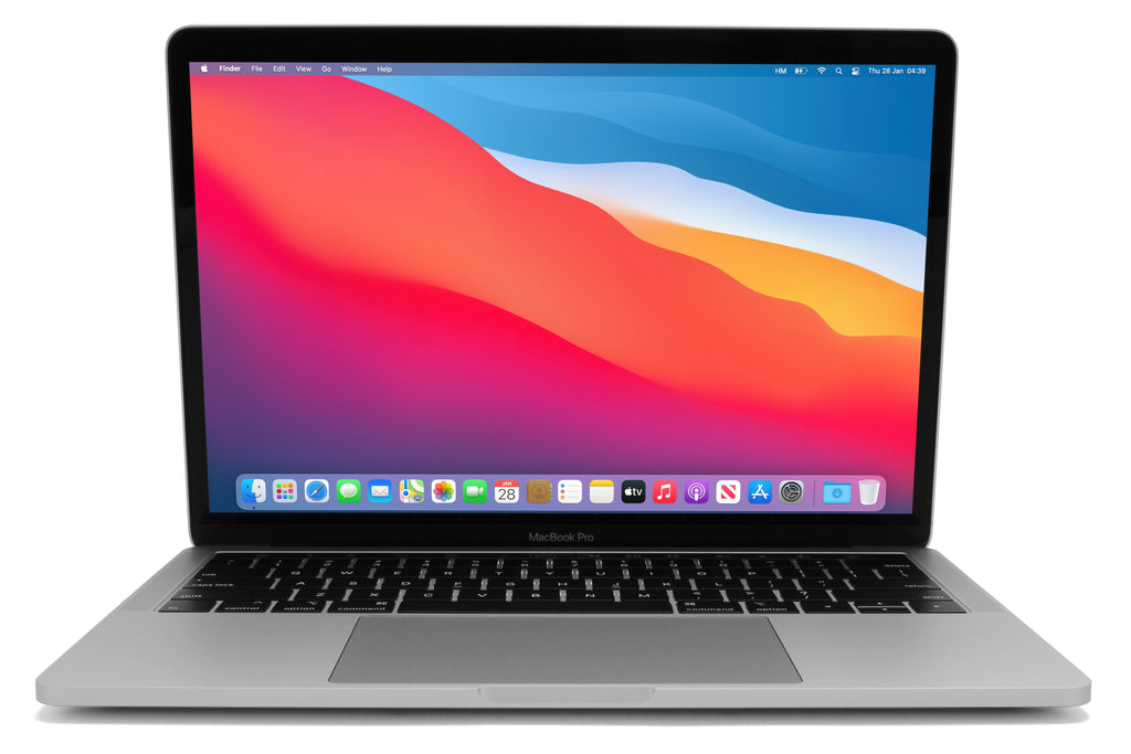 MacBook Pro 13-inch A1706 macOS Big Sur Silver