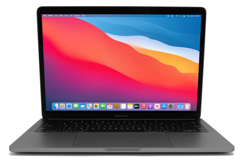 MacBook Pro 13-inch A1989 macOS Big Sur Space Grey