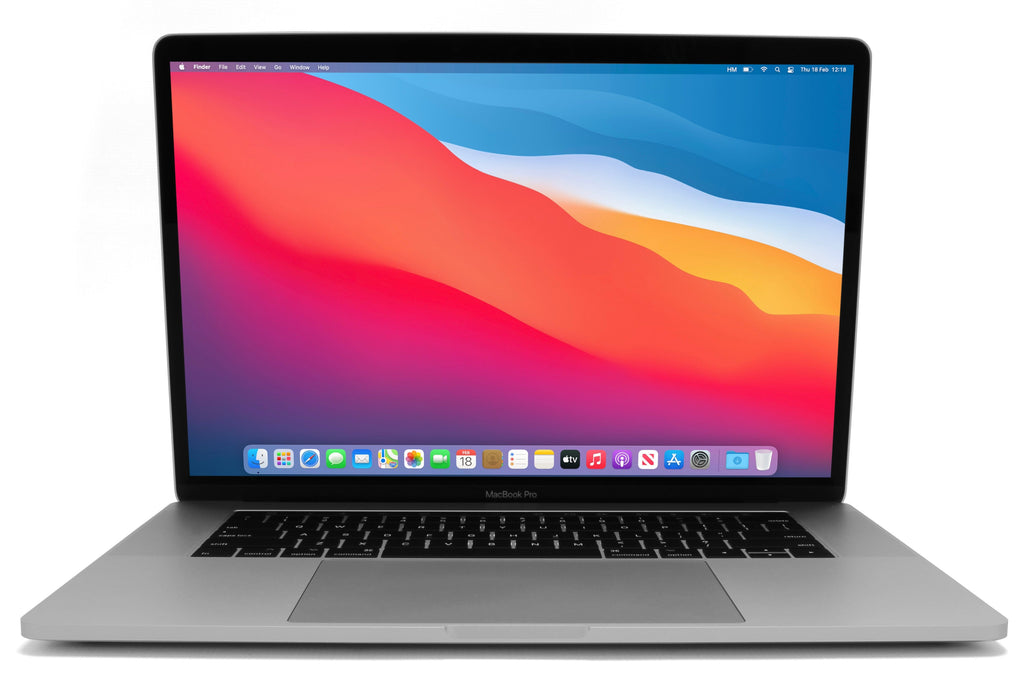 MacBook Pro 15-inch A1707 macOS Big Sur Silver