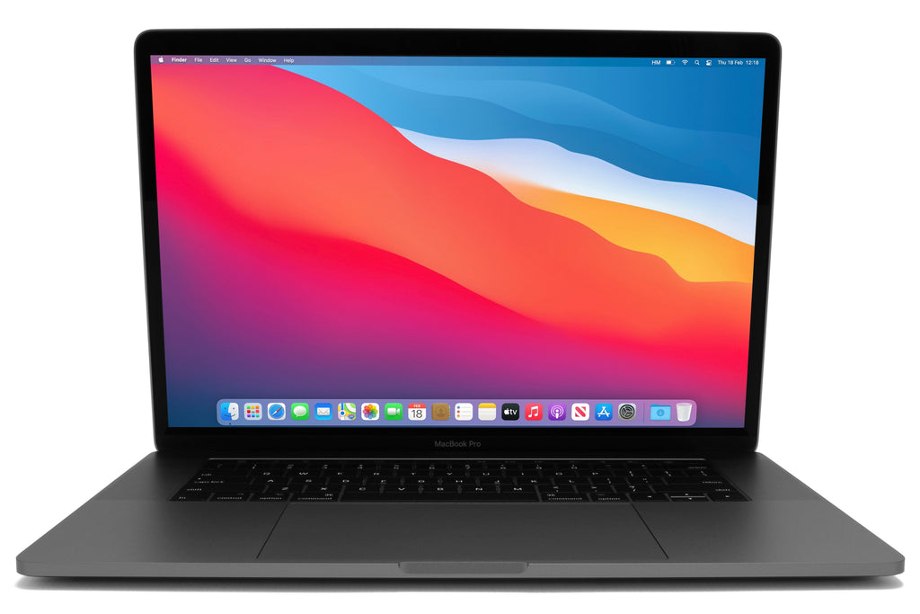 MacBook Pro 15-inch A1707 macOS Big Sur Space Grey