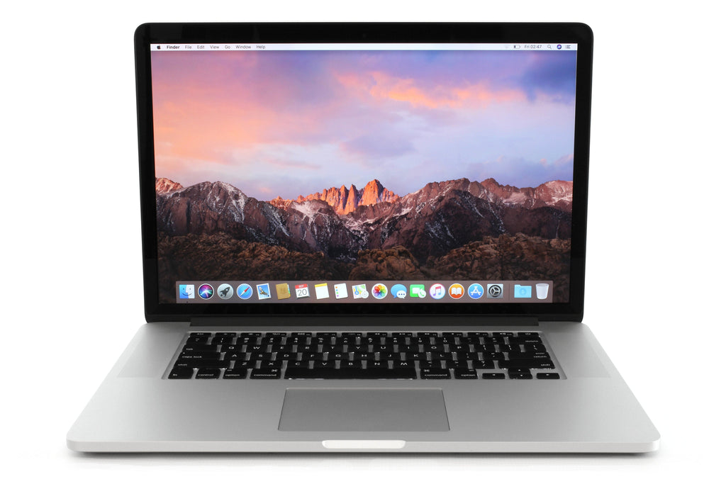 Apple 15-inch MacBook Pro Retina A1398 Mid 2015 Front
