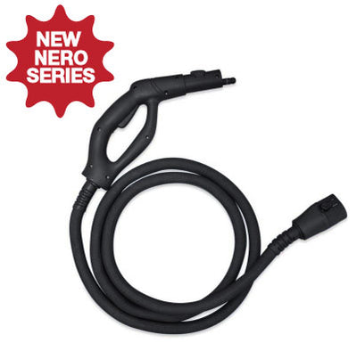 MR-1000 Forza *Nero Steam Gun & Hose Standard Length - 8 Feet