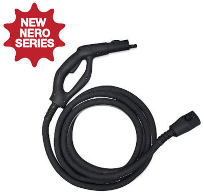 MR-1000 Forza *Nero Steam Gun & Hose Extended Length - 12 Feet