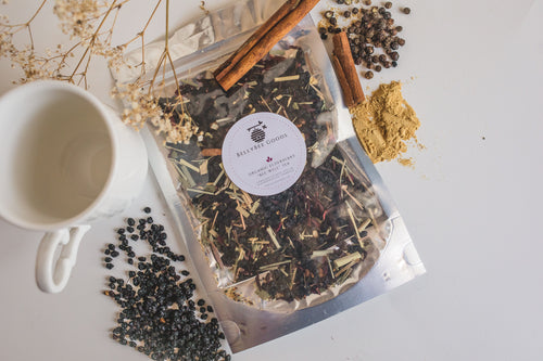"Organic Elderberry ""Bee-Well"" Tea"