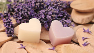 Valentine special heart shaped soaps