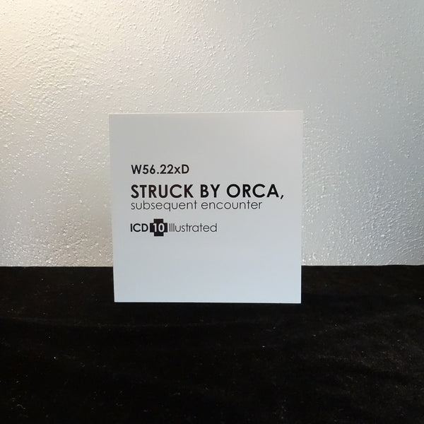 Struck by Orca: ICD-10 Illustrated