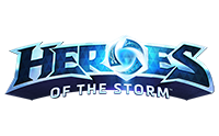 Heroes of the Storm Logo.