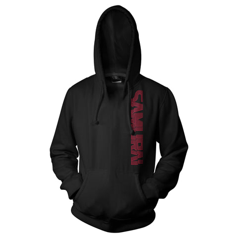 View 1 of Cyberpunk 2077 Off The Grid Samurai Pullover Hoodie photo.