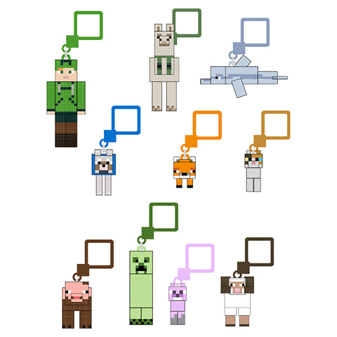 "View 1 of Minecraft Hangers 3"" Figure Blind Packs Series 7 + Earth Series 1 (Each) photo."