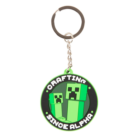 View 1 of Minecraft Original Craftsta Keychain photo.
