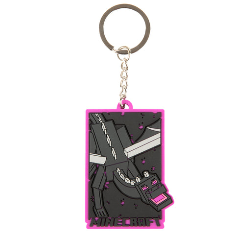 View 1 of Minecraft Boxed Ender Dragon Keychain photo.