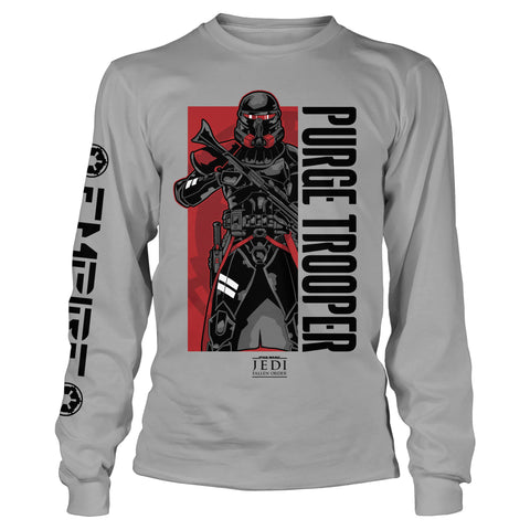 View 1 of Star Wars Jedi: Fallen Order Purge Boxed Long Sleeve Youth Tee photo.