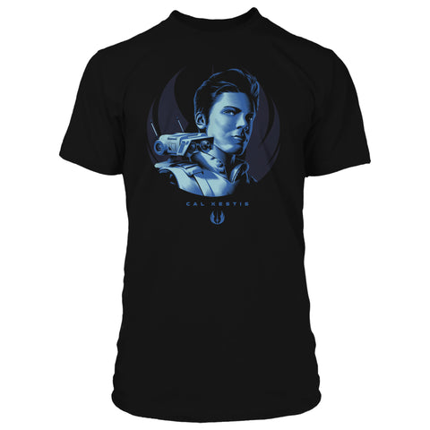 View 1 of Star Wars Jedi: Fallen Order Support the Jedi Premium Tee photo.