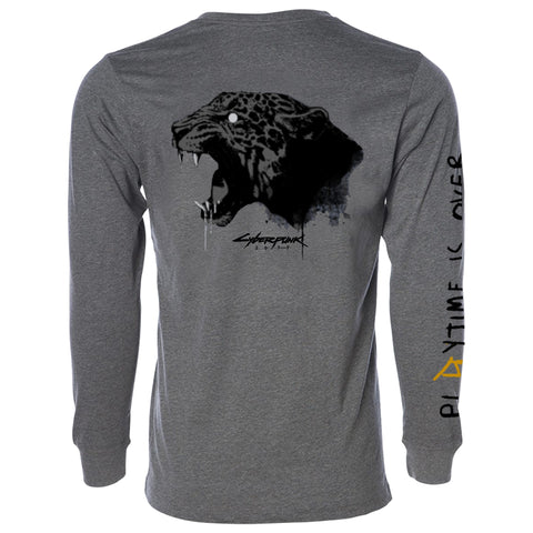 View 1 of Cyberpunk 2077 Animals Tagged Long Sleeve Tee photo.