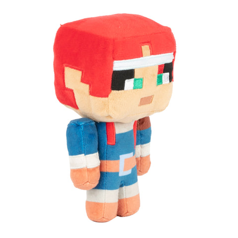 View 1 of Minecraft Dungeons Happy Explorer Valorie Plush photo.