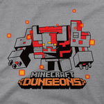 View 2 of Minecraft Dungeons Big Monstrosity Youth Tee photo.
