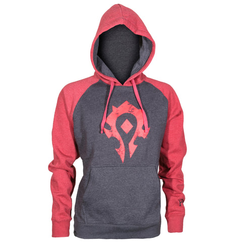 View 1 of World of Warcraft Proud Horde Pullover Hoodie photo.