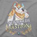 View 2 of World of Warcraft Shadowlands Here To Help Premium Tee photo.