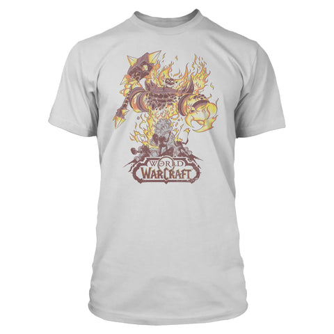 View 1 of World of Warcraft Fire Lord Premium Tee photo.