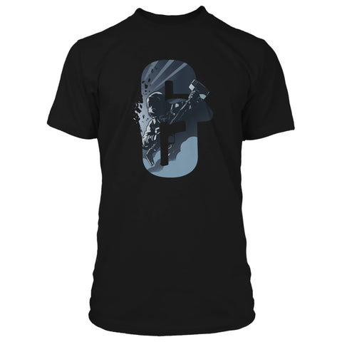 View 1 of Rainbow Six Siege Break Out Premium Tee photo.